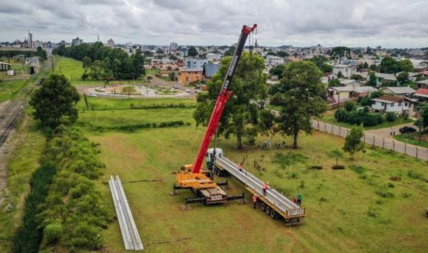 Novo viaduto em Vacaria tem investimento de R$ 1 milhão Prefeitura de Vacaria/Divulgação