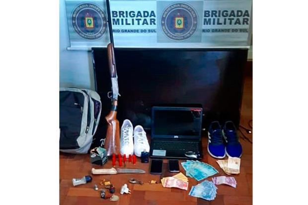 Pela quarta vez em 34 dias, homem é preso por crimes no interior de Farroupilha Brigada Militar / Divulgação/Divulgação