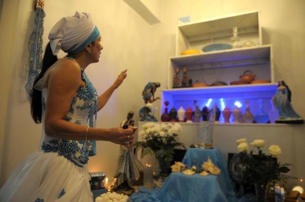 Devotos caxienses demonstram seu amor por Iemanjá, celebrada neste domingo em todo o Brasil Lucas Amorelli/Agencia RBS