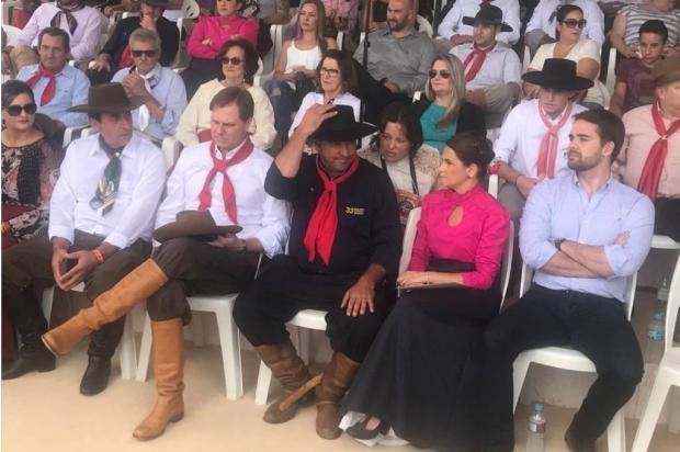 Governador Eduardo Leite participa da abertura do 33° Rodeio Internacional de Vacaria Tales Armiliato / Agência RBS/Agência RBS