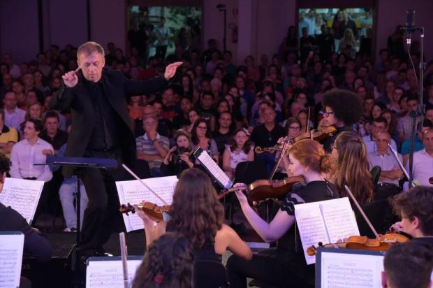 """Com três orquestras internacionais, """"Gramado in Concert"""" inicia sua 6ª edição sexta-feira Divulgação/Divulgação"""