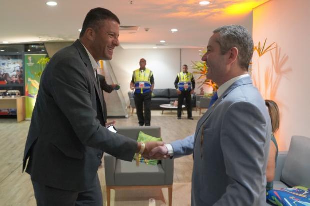 Por polêmica em jogo do Caxias na Copa do Brasil, Washington Cerqueira é demitido da CBF Leandro Lopes / CBF / Divulgação/CBF / Divulgação