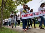 """""""Não vamos descansar até que os culpados sejam punidos"""", disse a mãe de Tiago Roger Rufatto/Agencia RBS"""
