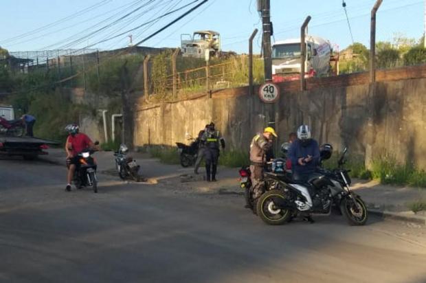 Homem é preso em operação que abordou mais de 100 motociclistas em Caxias Brigada Militar/Divulgação