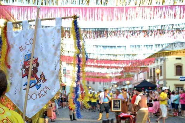 Garibaldi celebra carnaval com marchinhas e cortejo pelo Centro Histórico Alexandra Ungaratto/Divulgação
