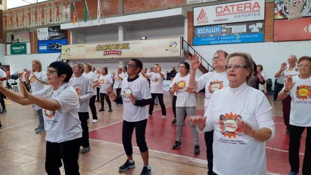 Conviver volta às atividades nesta segunda-feira em Caxias do Sul Secretaria do Esporte e Lazer/Divulgação