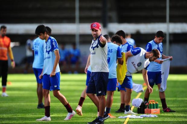 Caxias tem algumas dúvidas na equipe para enfrentar o Ypiranga Porthus Junior/Agencia RBS