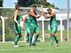 Juventude goleia a equipe sub-20 do Brasil-Fa em jogo-treino, neste domingo Arthur Dallegrave / Juventude, Divulgação/Juventude, Divulgação