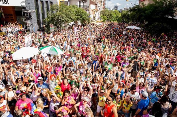 Blocos de rua fazem da folia o principal evento de Caxias em ano sem Festa da Uva Manu Zatti/Divulgação