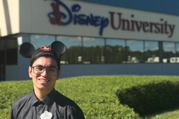 Jovem de Bento Gonçalves é selecionado para participar de programa de trainee na Disney Arquivo pessoal/Divulgação