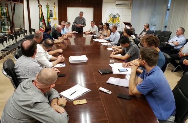 Técnicos da prefeitura calculam tarifa de ônibus urbano a R$ 4,65 em Caxias do Sul Lizie Antonello / Agência RBS/Agência RBS