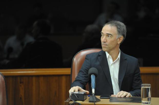 """Após cumprir punição de 60 dias, Chico Guerra volta para Câmara: """"Voltei para ser a voz do povo"""" Lucas Amorelli/Agencia RBS"""