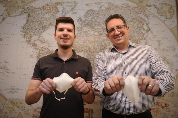 Empresa de Caxias do Sul doa 10 mil máscaras para auxiliar chineses no combate ao coronavírus Antonio Valiente/Agencia RBS