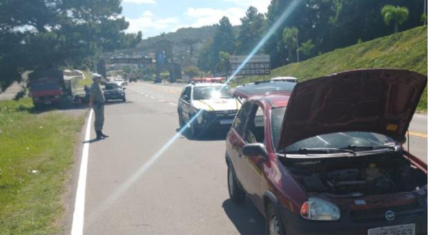 Três são presos depois de roubar vendedor de frutas em Flores da Cunha BM / divulgação/divulgação