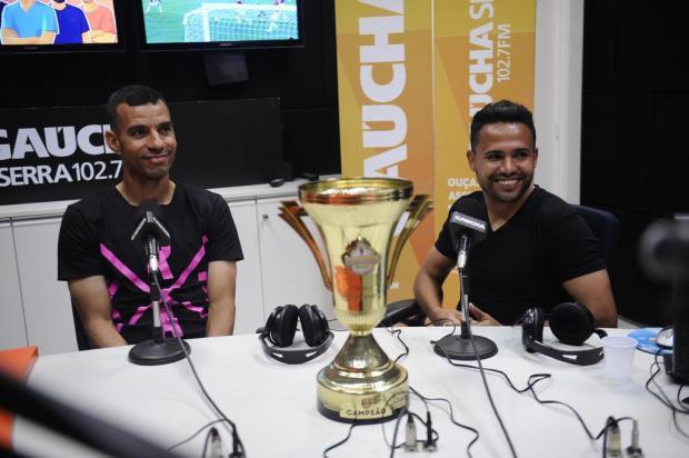 Em êxtase, Diogo Oliveira e Ivan destacam união do grupo do Caxias como trunfo para o título Antonio Valiente/Agencia RBS
