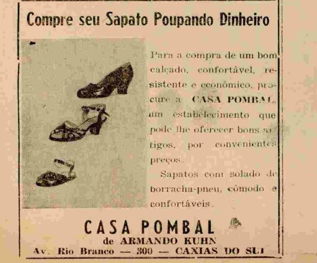 Avenida Rio Branco: anúncios de antigos comércios e serviços Agência RBS / reprodução/reprodução