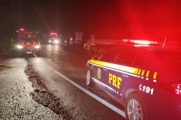 Depois de acidente com morte, trânsito é liberado na BR-470 em Bento Gonçalves PRF/Divulgação