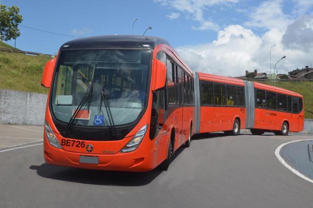 Marcopolo vende 199 ônibus para Curitiba Edypo Pinheiro Alaniz/Divulgação