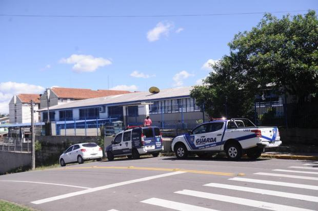 Segurança em escola é reforçada depois de criança de seis anos ser baleada em Caxias Antonio Valiente/Agencia RBS