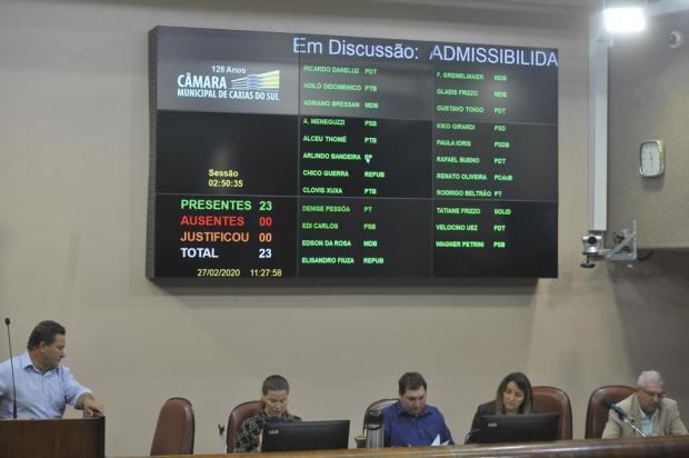 Câmara rejeita segundo pedido de acolhimento de impeachment do prefeito de Caxias Lucas Amorelli/Agência RBS