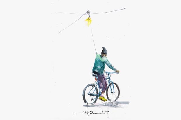 Pedro Guerra: não sei andar de bicicleta Antonio Giacomin/