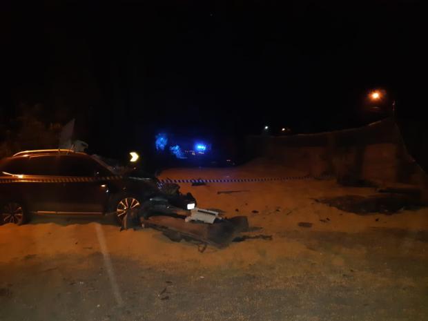 Três pessoas ficam feridas após tombamento de caminhão na BR-116 em São Marcos Polícia Rodoviária Federal / PRF/PRF