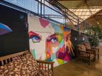 Grafite integra novo layout do Restaurante Tulipa, em Caxias Fabio Grison/Divulgação
