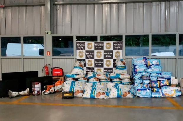 Bandidos simulam compra de 750 kg de ração para roubar carga em Caxias do Sul Polícia Civil / divulgação/divulgação