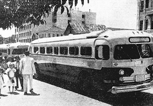 """Expresso Caxiense e a chegada do """"Gostosão"""" em 1948 Studio Geremia / reprodução/reprodução"""