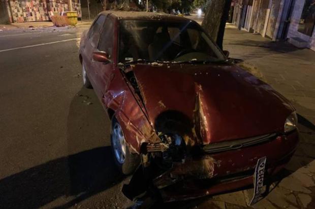 Homem bate em container de entulhos e é preso por dirigir embriagado em Caxias Everton Santana / Divulgação/Divulgação