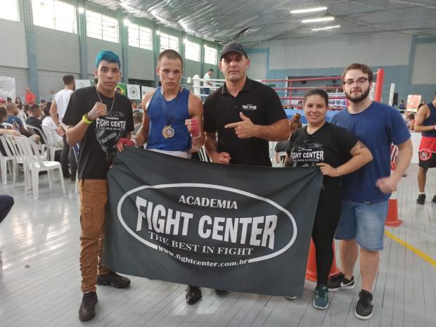 Atleta da Fight Center vence etapa da seletiva para a seleção gaúcha de boxe Divulgação / Fight Center/Fight Center
