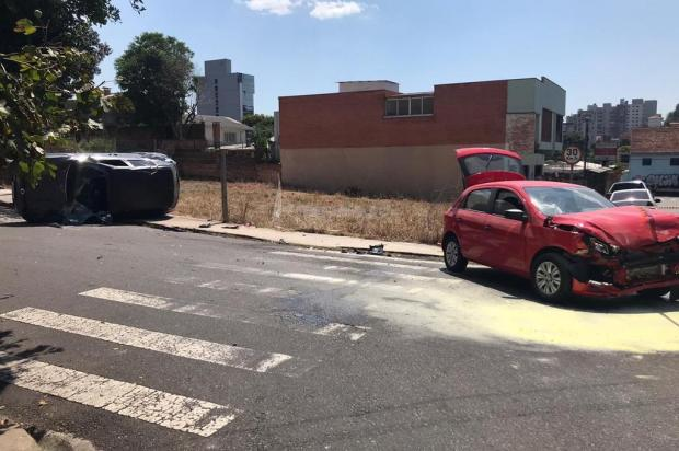 Fiscalização de Trânsito atende acidente no bairro Pio X em Caxias do Sul André Tajes/Agência RBS