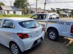 Jovem tenta fugir de abordagem e é preso com carro furtado em Canela Brigada Militar/Divulgação