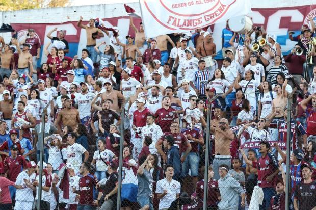 Caxias faz promoção para as mulheres no jogo contra o Novo Hamburgo Luiz Erbes/SER Caxias,Divulgação