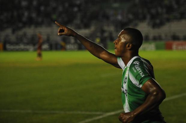 Jogadores do Juventude esperam novo ânimo após primeiro gol em casa na temporada Porthus Junior/Agencia RBS