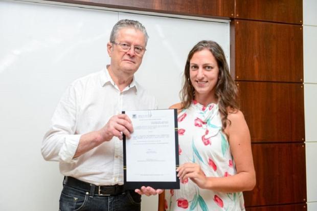 Aline Zilli está à frente do Conselho Municipal de Políticas Culturais de Caxias Divulgação/