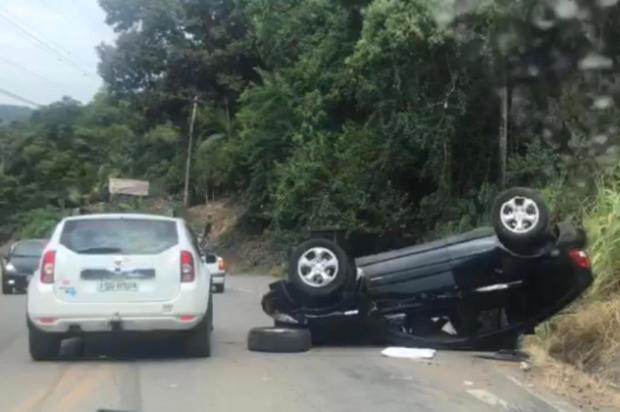 Acidente deixa cinco feridos entre Bento e Cotiporã Tahena Irigoyen/Agência RBS