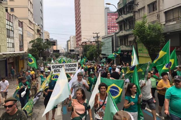 Manifestação pró-Bolsonaro reúne milhares em Caxias do Sul André Tajes/Agência RBS