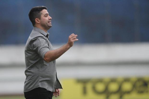 Preocupação com a interrupção do Gauchão e projeção do Ca-Ju: a entrevista de Lacerda após vitória sobre Novo Hamburgo Antonio Valiente/Agencia RBS