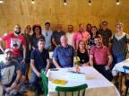 PTB, PSDB e Solidariedade de Caxias do Sul próximos e bem à vontade Reprodução/Twitter