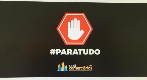 Sindicomerciários defende o fechamento do comércio de Caxias do Sul reprodução/Sindicomerciários,divulgação