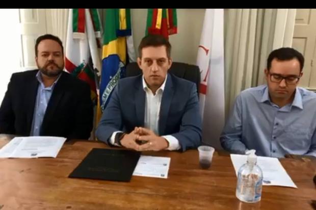 Bento Gonçalves decreta fechamento da indústria e comércio a partir deste sábado Reprdução / Facebook / Prefeitura de Bento Gonçalves/Facebook / Prefeitura de Bento Gonçalves