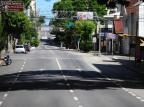 Ruas desertas no Centro marcam primeiro dia de isolamento social para combater o coronavírus em Caxias Porthus Junior/Agencia RBS