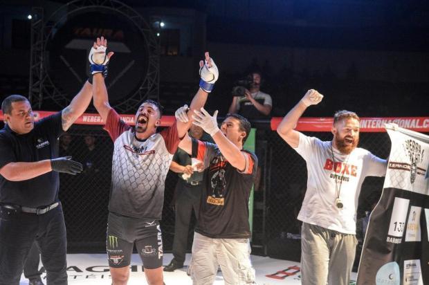 Atleta da Serra é destaque no maior evento brasileiro de MMA Gaspar Gaúcho/Taura MMA