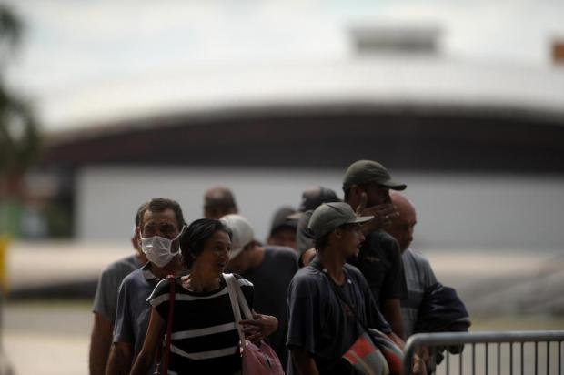 Prefeitura inicia o acolhimento aos moradores de rua nos Pavilhões da Festa da Uva, em Caxias do Sul Lucas Amorelli/Agencia RBS
