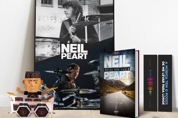 Editora caxiense lança livro escrito por Neil Peart, um dos maiores bateristas da história do rock Belas Letras/Divulgação
