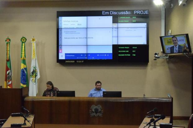 Sessões na Câmara de Vereadores de Caxias serão retomadas após o dia 5 de abril Fábio Rausch/Divulgação