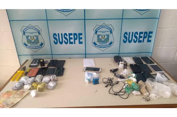 Dentista é preso ao entregar celulares e drogas em presídio de Caxias do Sul Susepe / Divulgação/Divulgação
