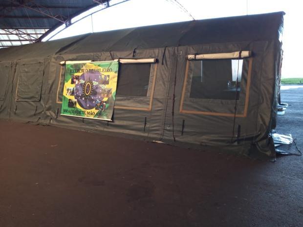 Com ambulatório para isolamento, Pavilhões da Festa da Uva já têm 100 moradores de rua em Caxias Nivea Rosa / divulgação/divulgação