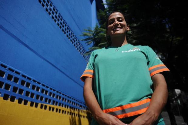 Na rua por você: Leonida Ferreira enfrenta vários riscos para deixar Caxias do Sul livre do lixo Antonio Valiente/Agencia RBS
